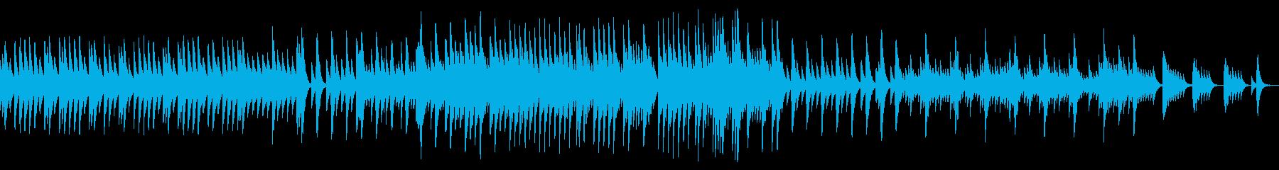 五日間の世界 音色2【優しいオルゴール】の再生済みの波形