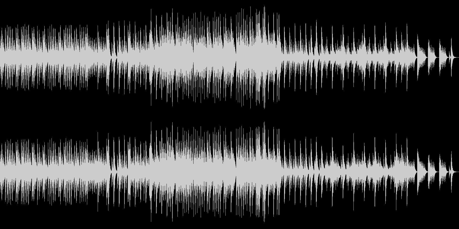 五日間の世界 音色2【優しいオルゴール】の未再生の波形