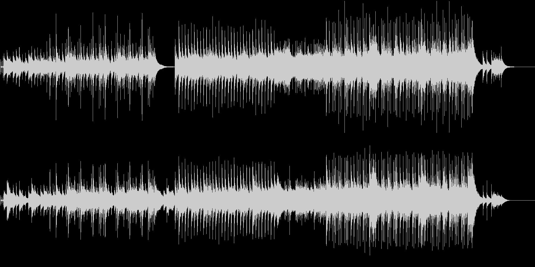 アコギとオルゴールのポップスの未再生の波形
