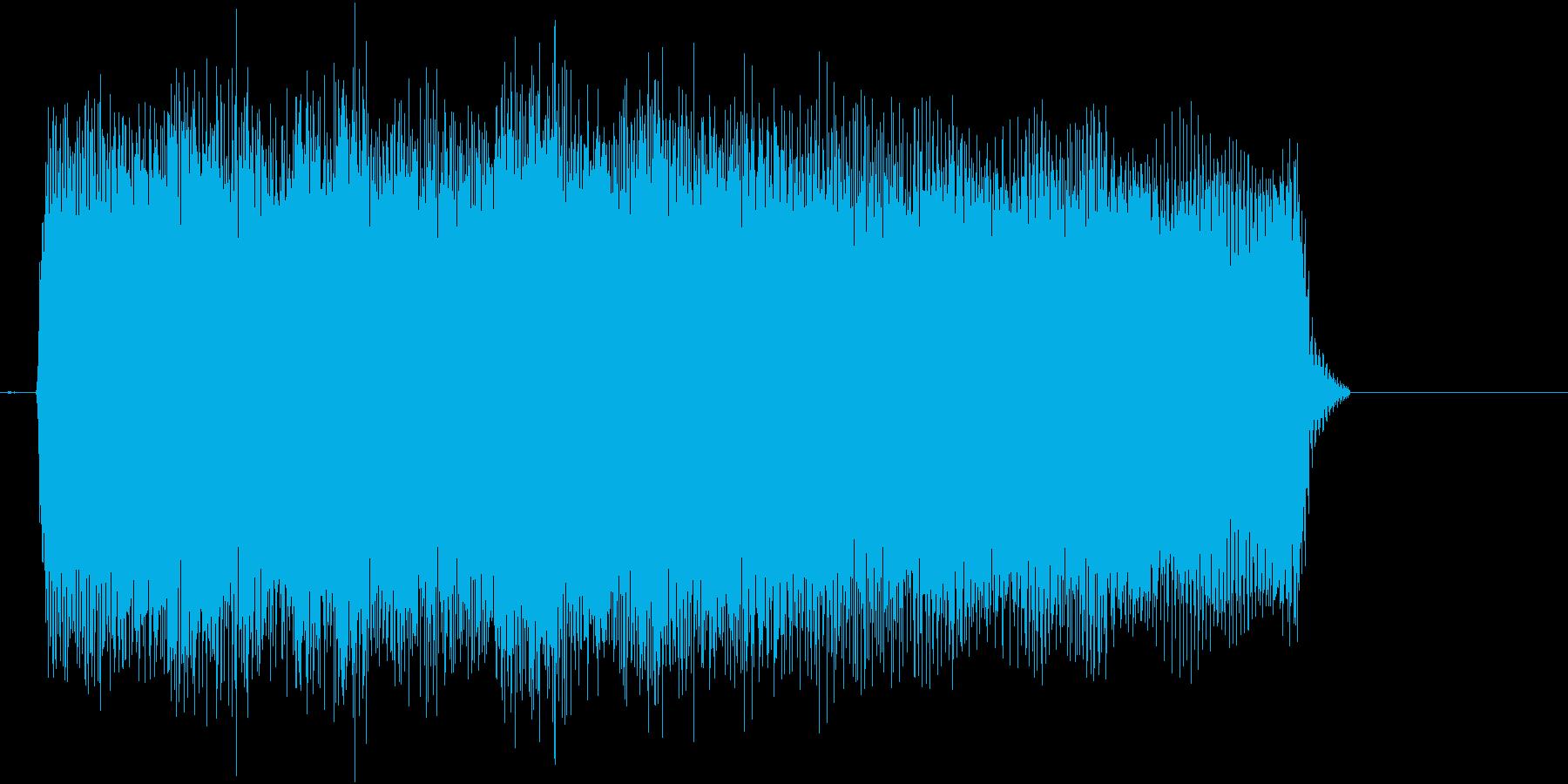 場面転換にピッタリなギターフレーズの再生済みの波形