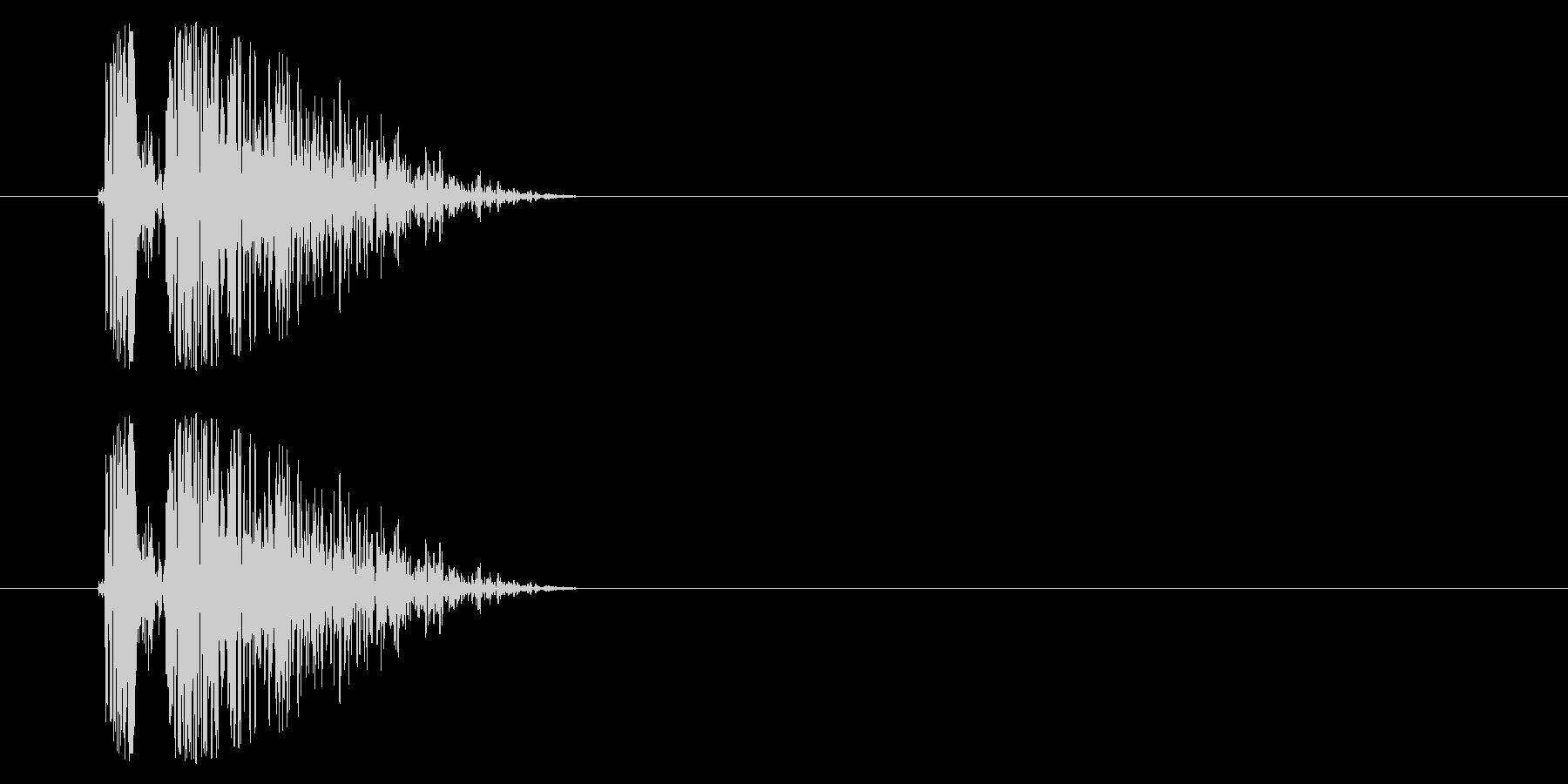 SNES シューティング02-10(ダメの未再生の波形