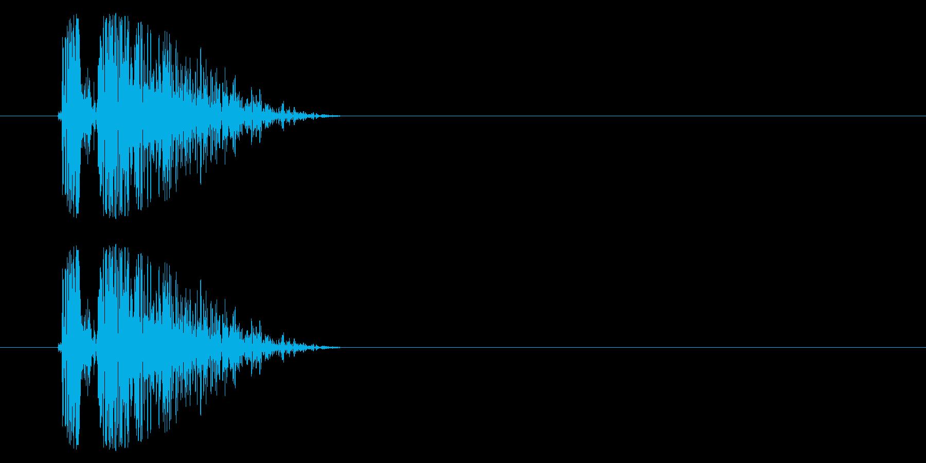 SNES シューティング02-10(ダメの再生済みの波形