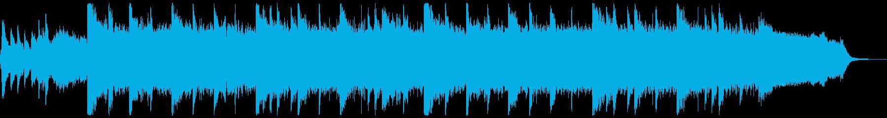 幻想的&感動的な壮大ハイブリッドBGMの再生済みの波形