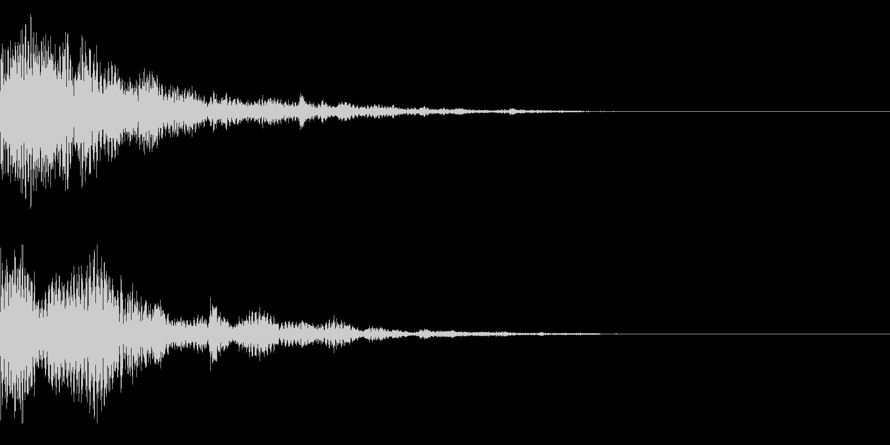 システム音35_Jの未再生の波形