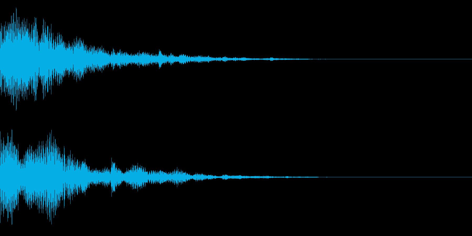 システム音35_Jの再生済みの波形