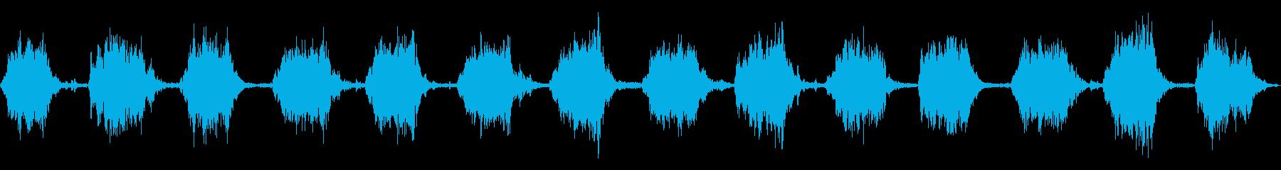 ゴゴ…ゴゴ… 洗濯機の動作音2 ロングの再生済みの波形