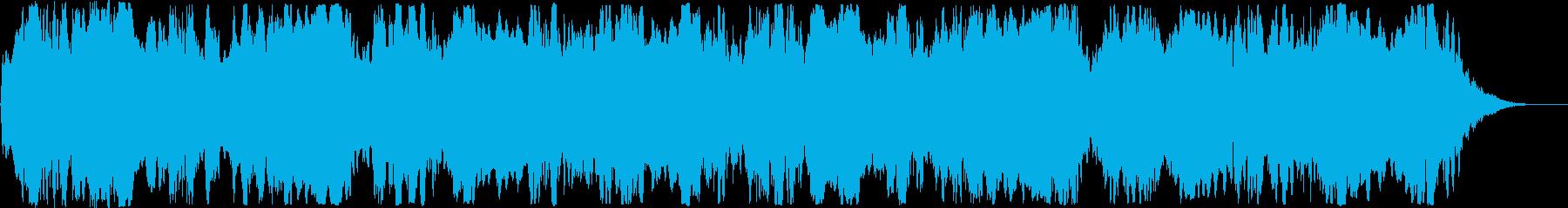 グォ~ン。サイレン・警報D(低・長)の再生済みの波形