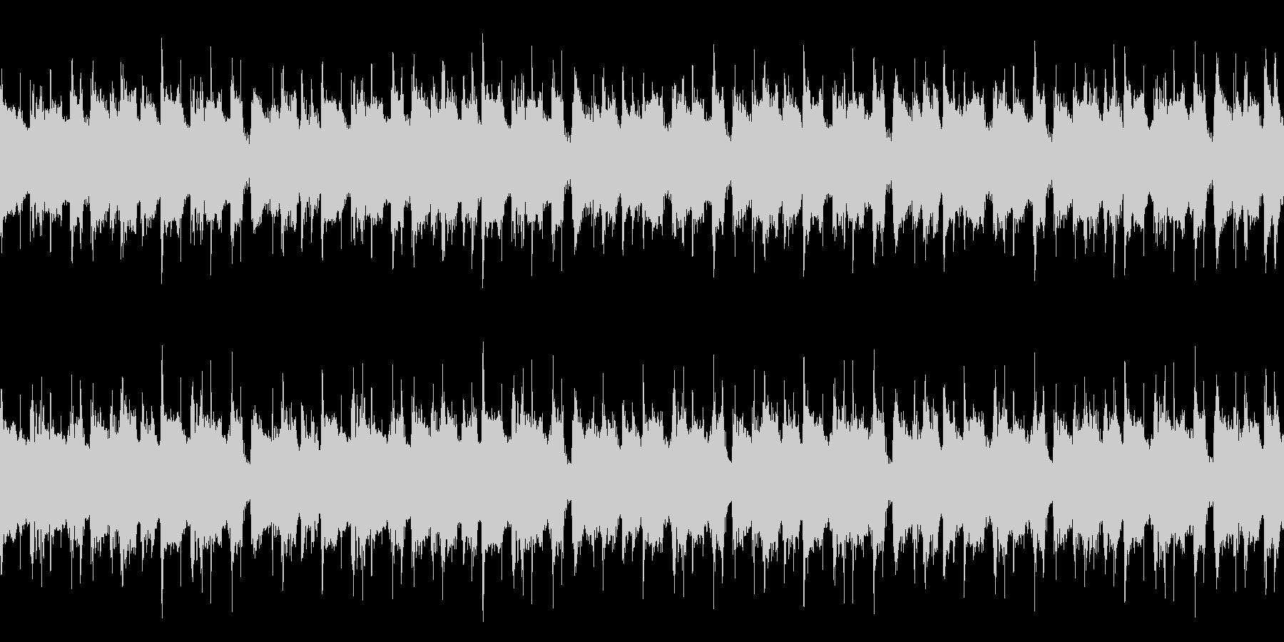 あたたかい雰囲気の日常感あるボサノバの未再生の波形