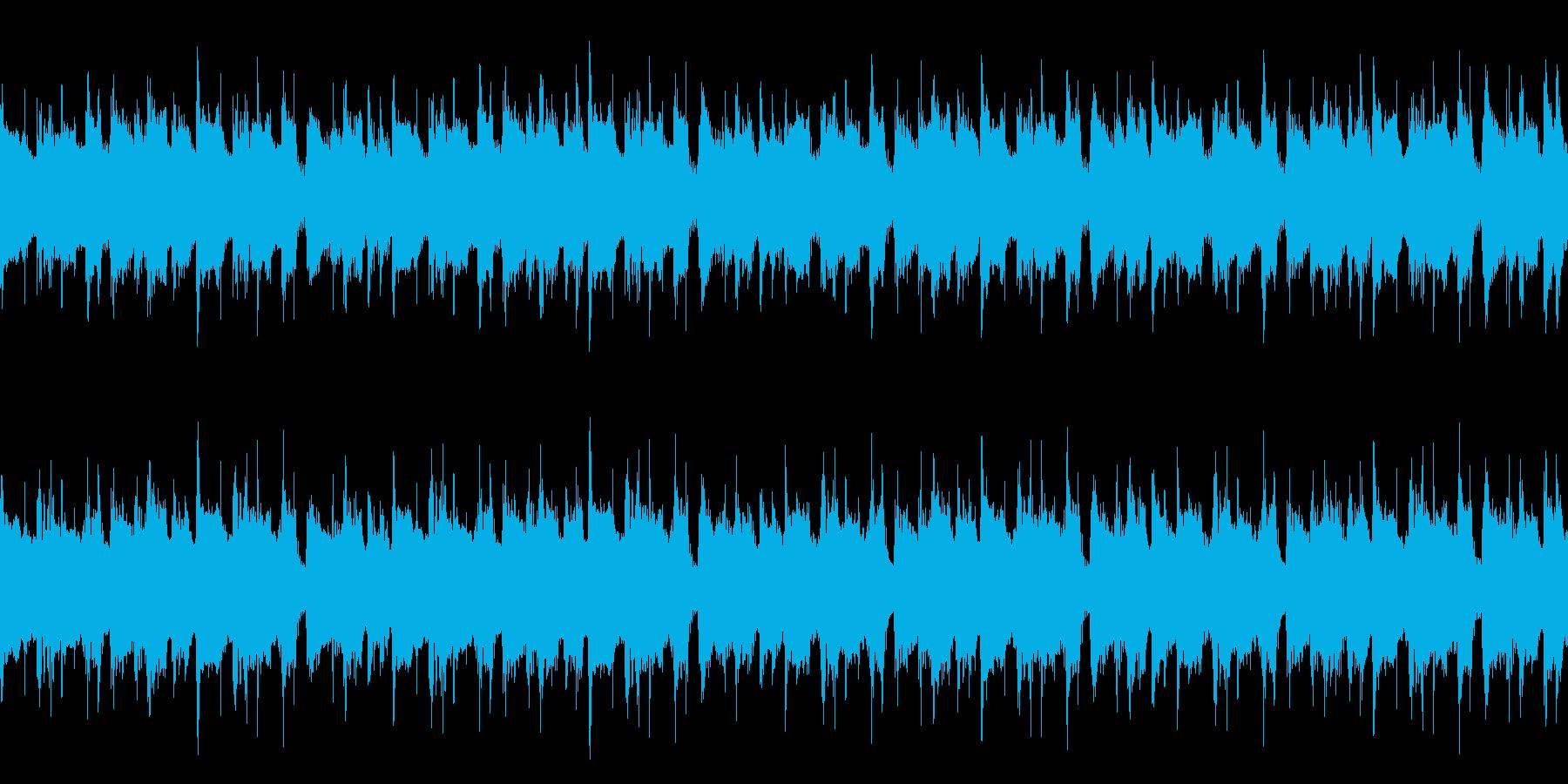 あたたかい雰囲気の日常感あるボサノバの再生済みの波形