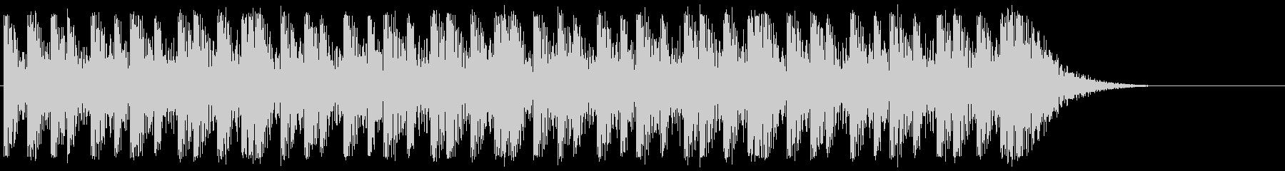 太鼓系楽器のみの迫力あるリズムループで…の未再生の波形