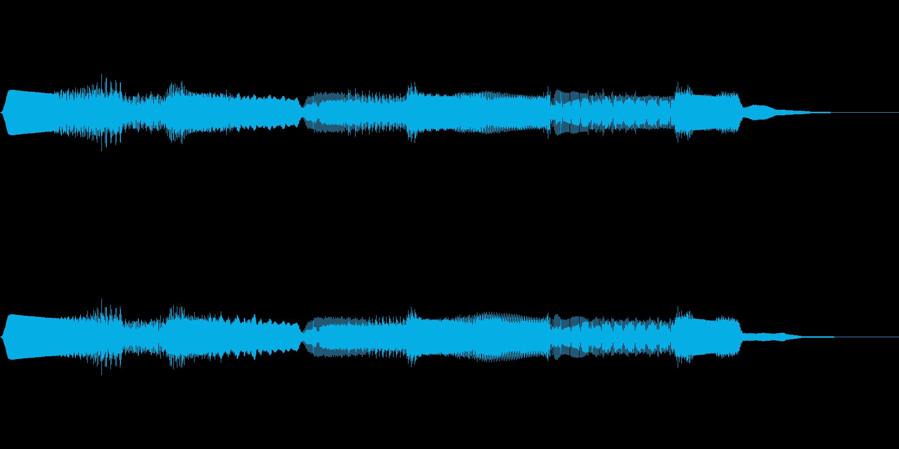 【SE 効果音】効果音その21の再生済みの波形