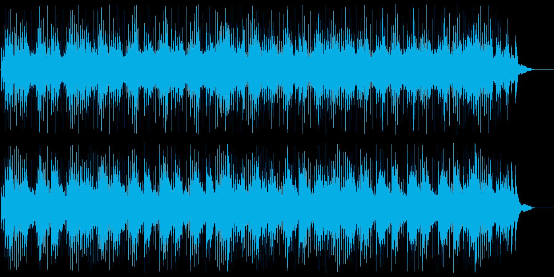 ピアノのシンセの切ないポップスの再生済みの波形