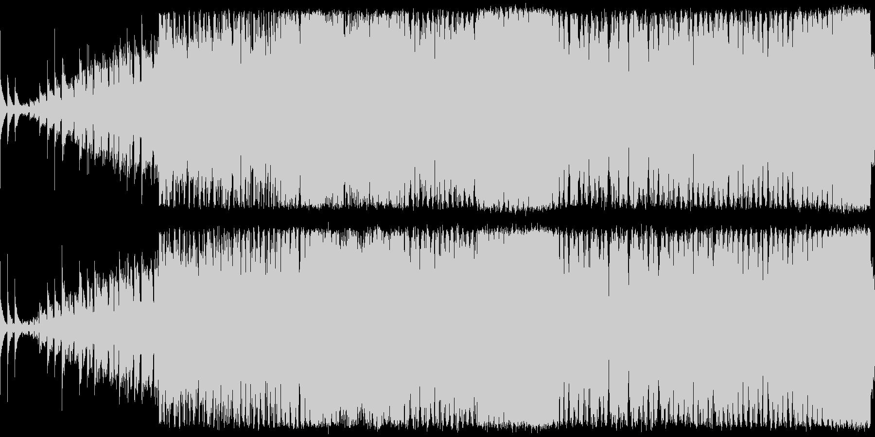 パリピなブチ上がるEDMです。の未再生の波形