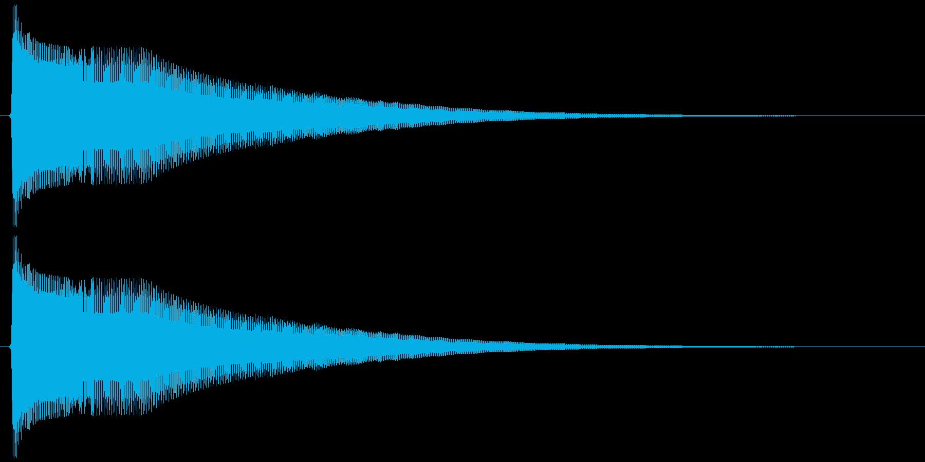 ピーヨンー(決定、ゲーム)の再生済みの波形