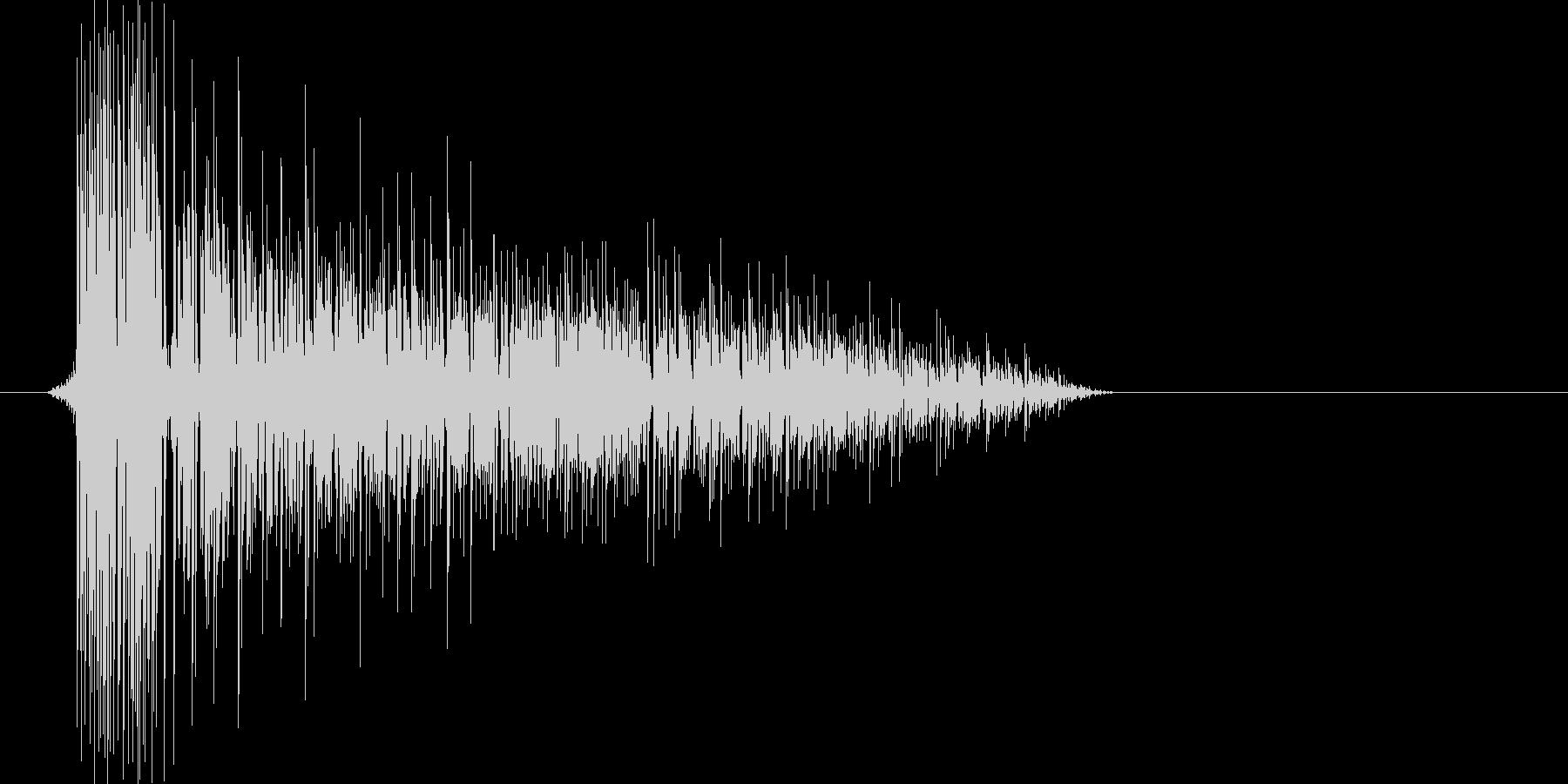 ゲーム(ファミコン風)爆発音_001の未再生の波形