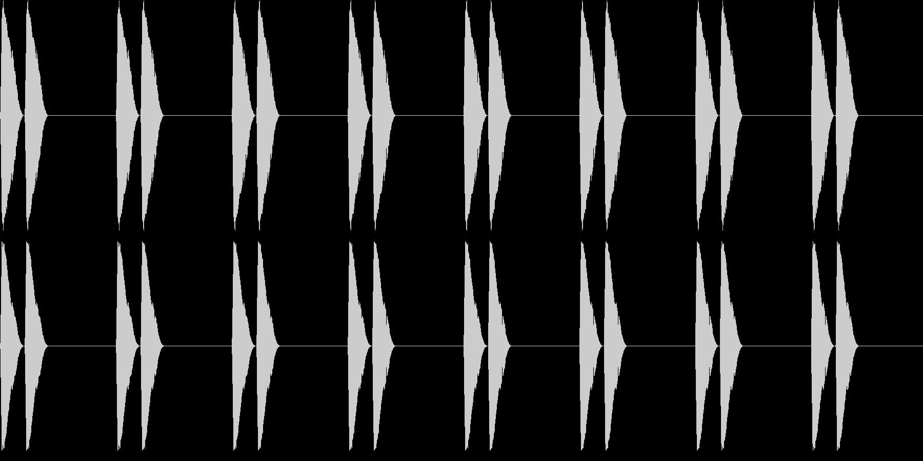 【アラーム】電子音 - ピピッ ピピッの未再生の波形