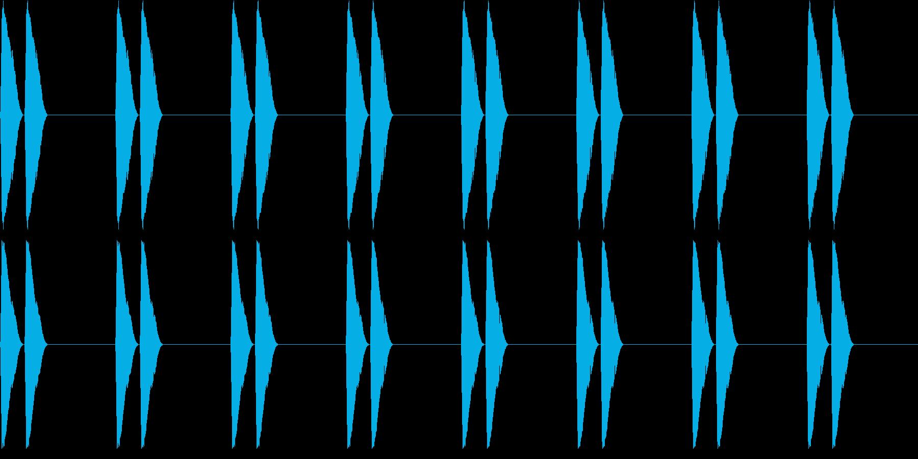 【アラーム】電子音 - ピピッ ピピッの再生済みの波形