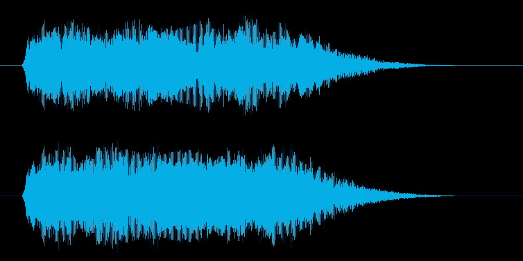 ファーン、キラキラ(宇宙、幻想的、風)の再生済みの波形