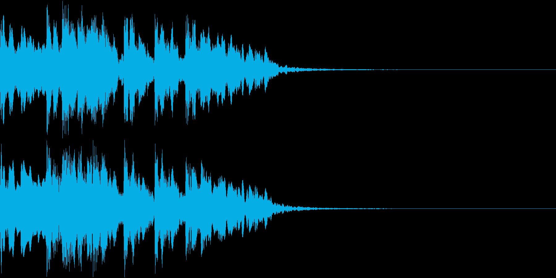 ファンファーレ 正解 当たり 紹介の再生済みの波形