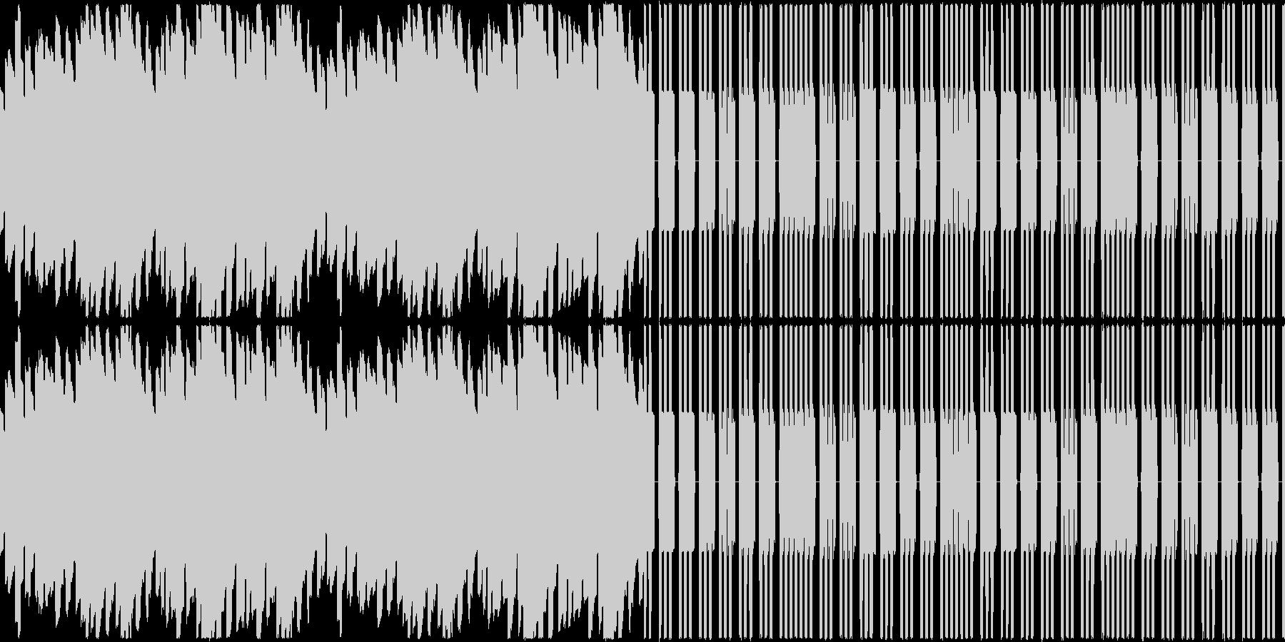 【ファミコン】夢の中・眠りの未再生の波形