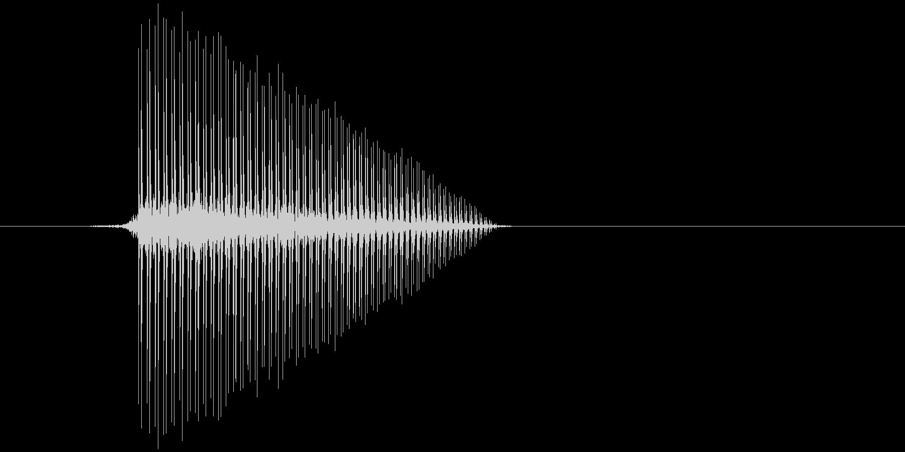 ゲーム(ファミコン風)ジャンプ音_023の未再生の波形