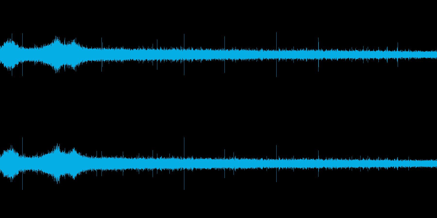【生音】 梅雨 - 豪雨_21の再生済みの波形