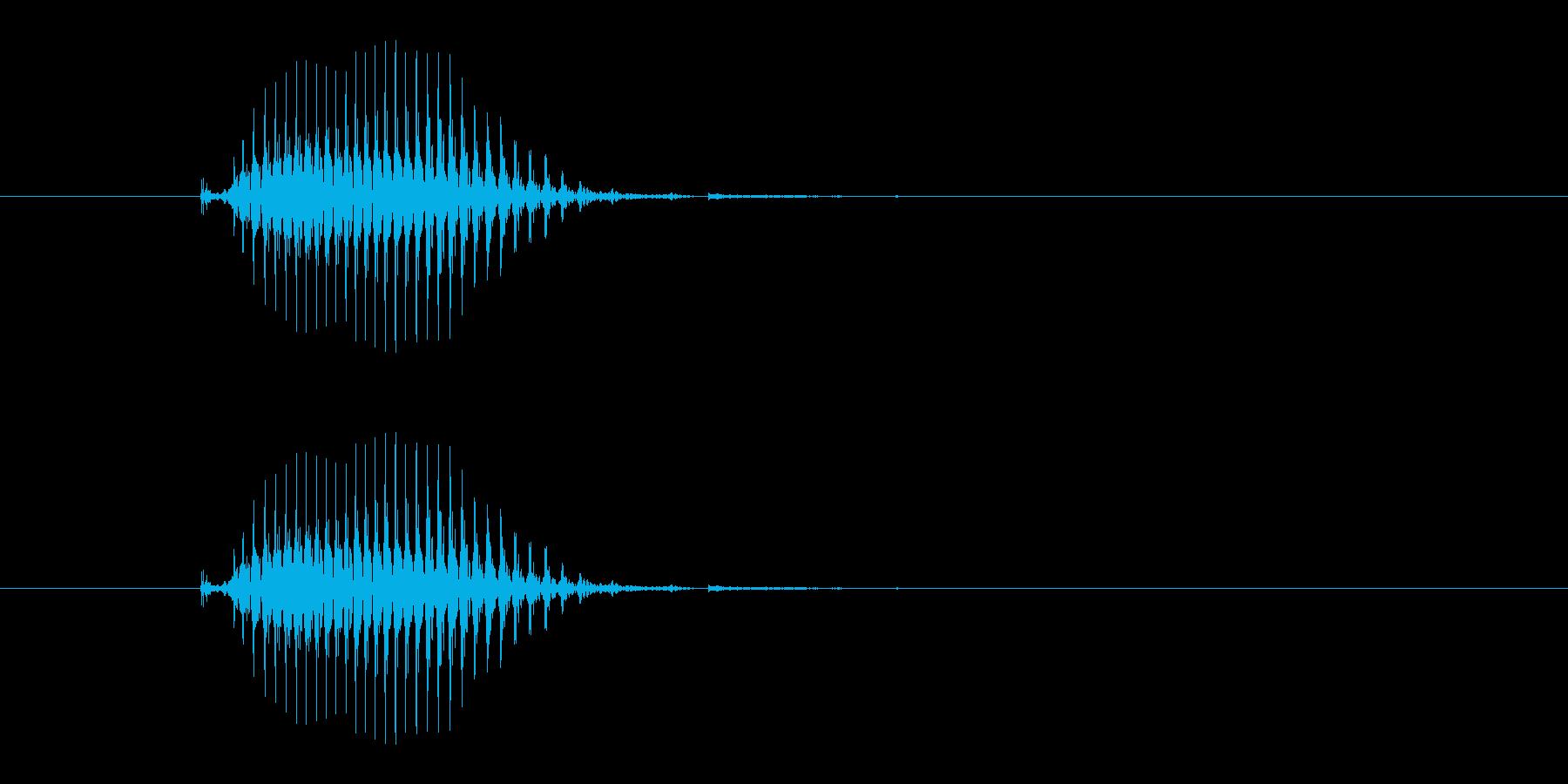 北(ペイ)[麻雀]の再生済みの波形