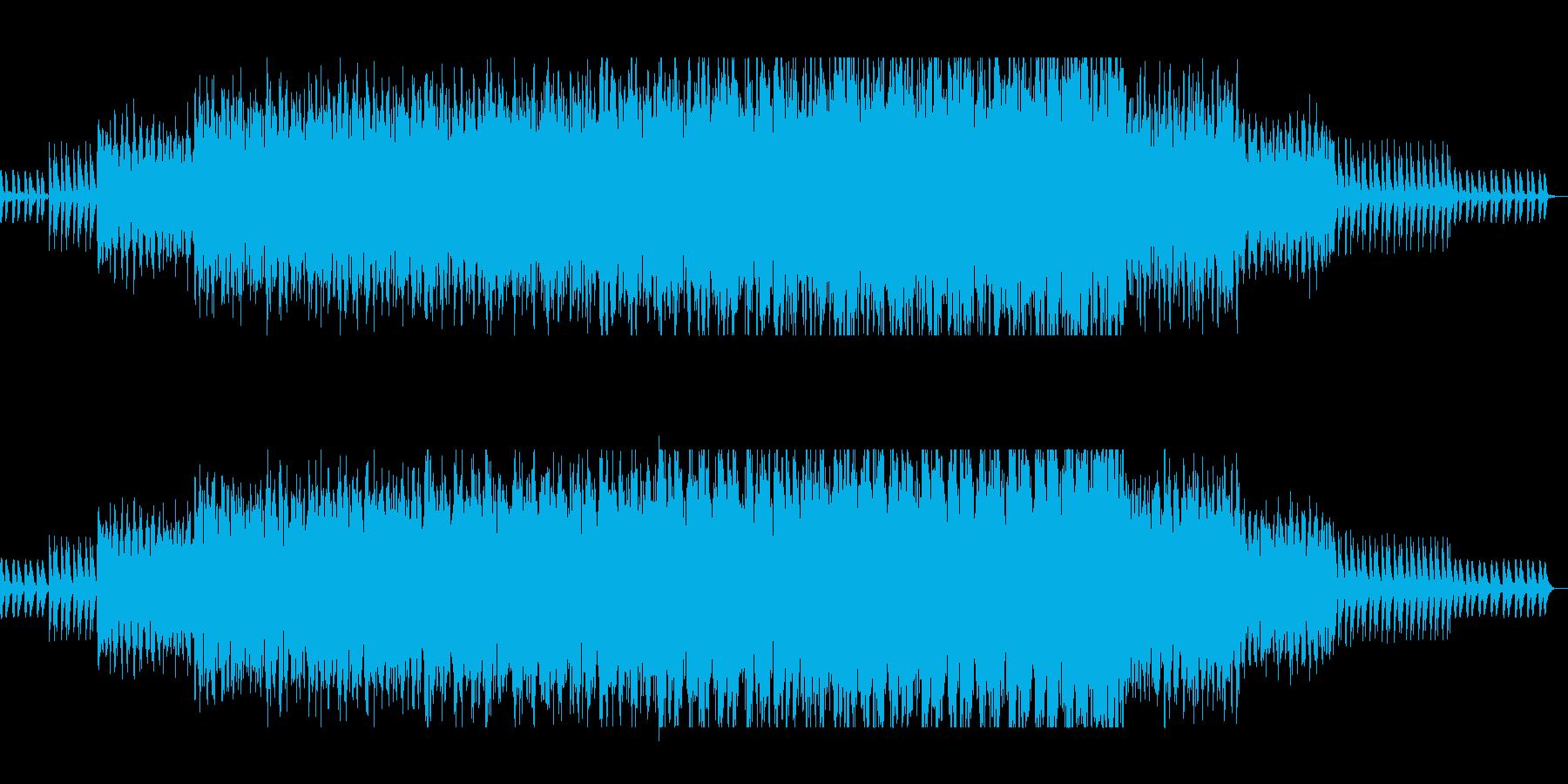 おしゃれで軽やかな打楽器木琴シンセの再生済みの波形