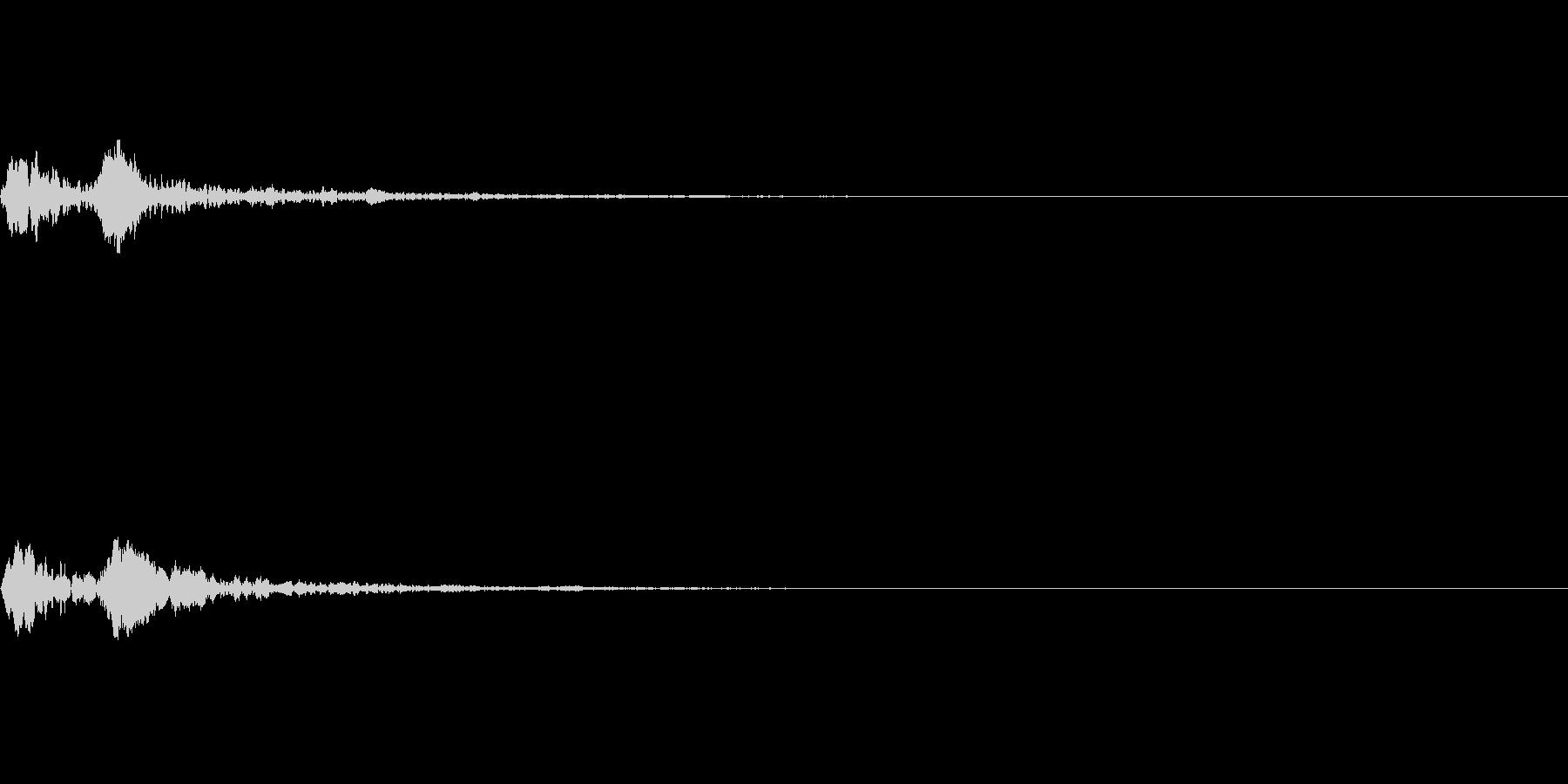 トトン 締太鼓(高い) 和楽器 選択音の未再生の波形