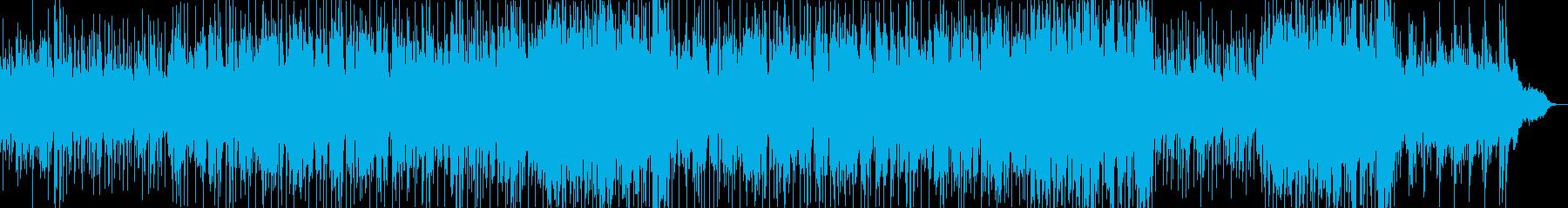 おしゃれで温かい爽やかなピアノバラードの再生済みの波形