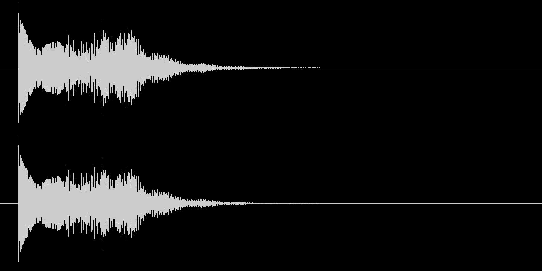 テンテロリン(ワンポイント、ロゴ)の未再生の波形