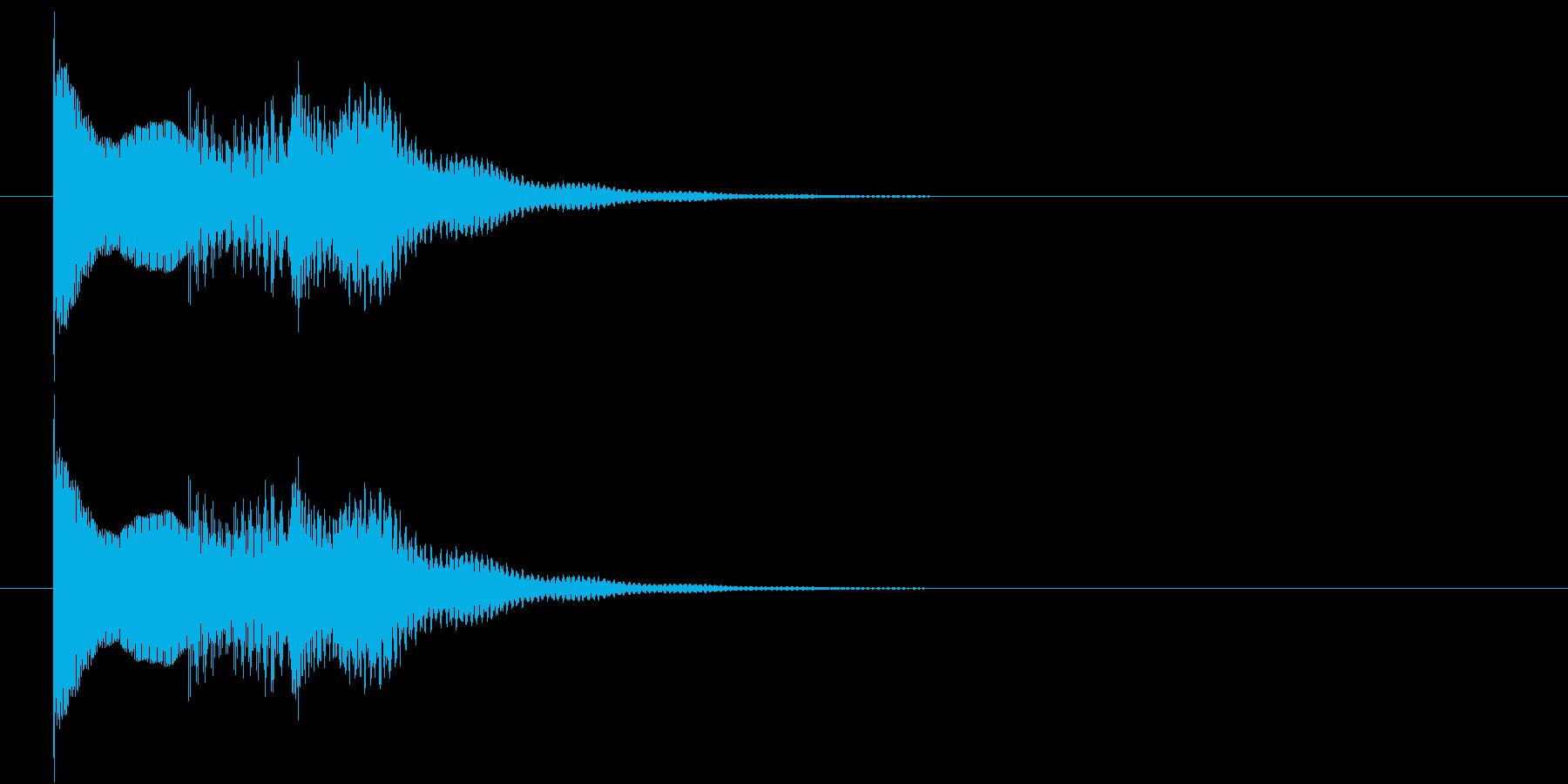 テンテロリン(ワンポイント、ロゴ)の再生済みの波形
