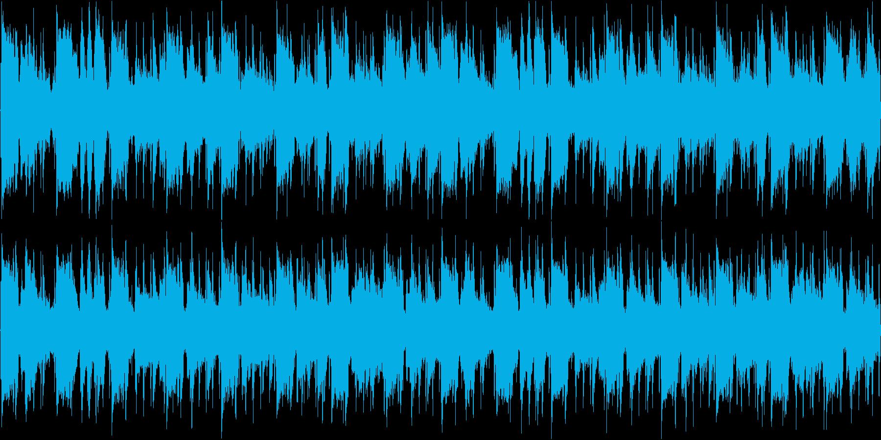 AcidJazz レトロな雰囲気の曲の再生済みの波形
