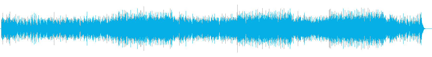 おだやかなニュー・ミュージック風の再生済みの波形