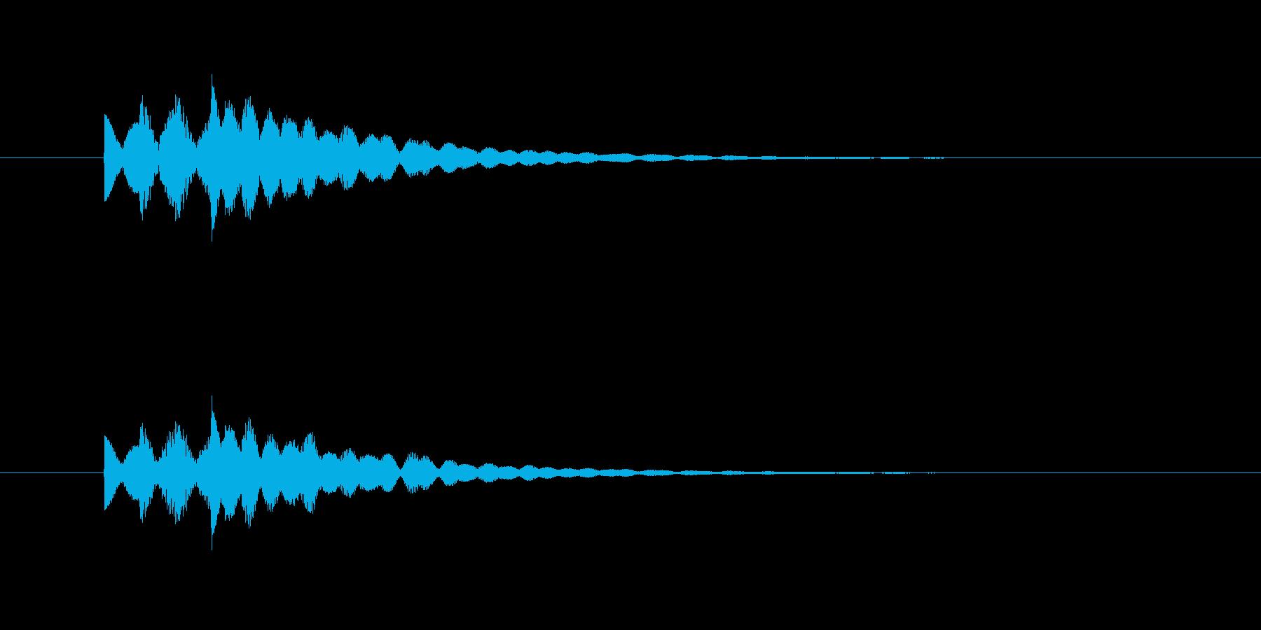 ピポピロン!優しいシンセのジングル。の再生済みの波形