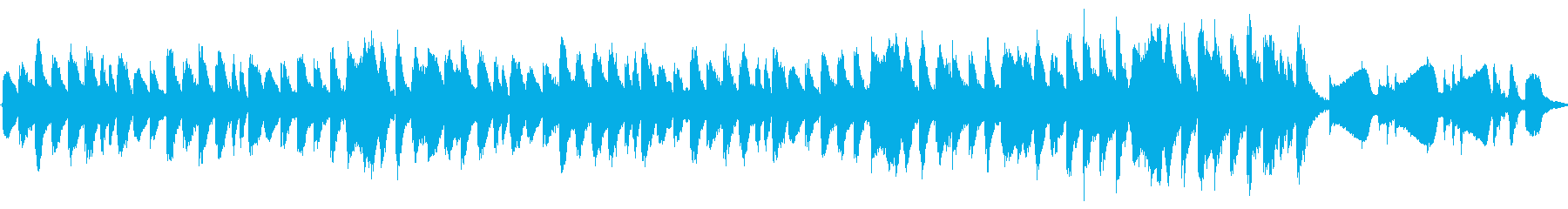 ちょっぴり幸せなほのぼのメロディーの再生済みの波形