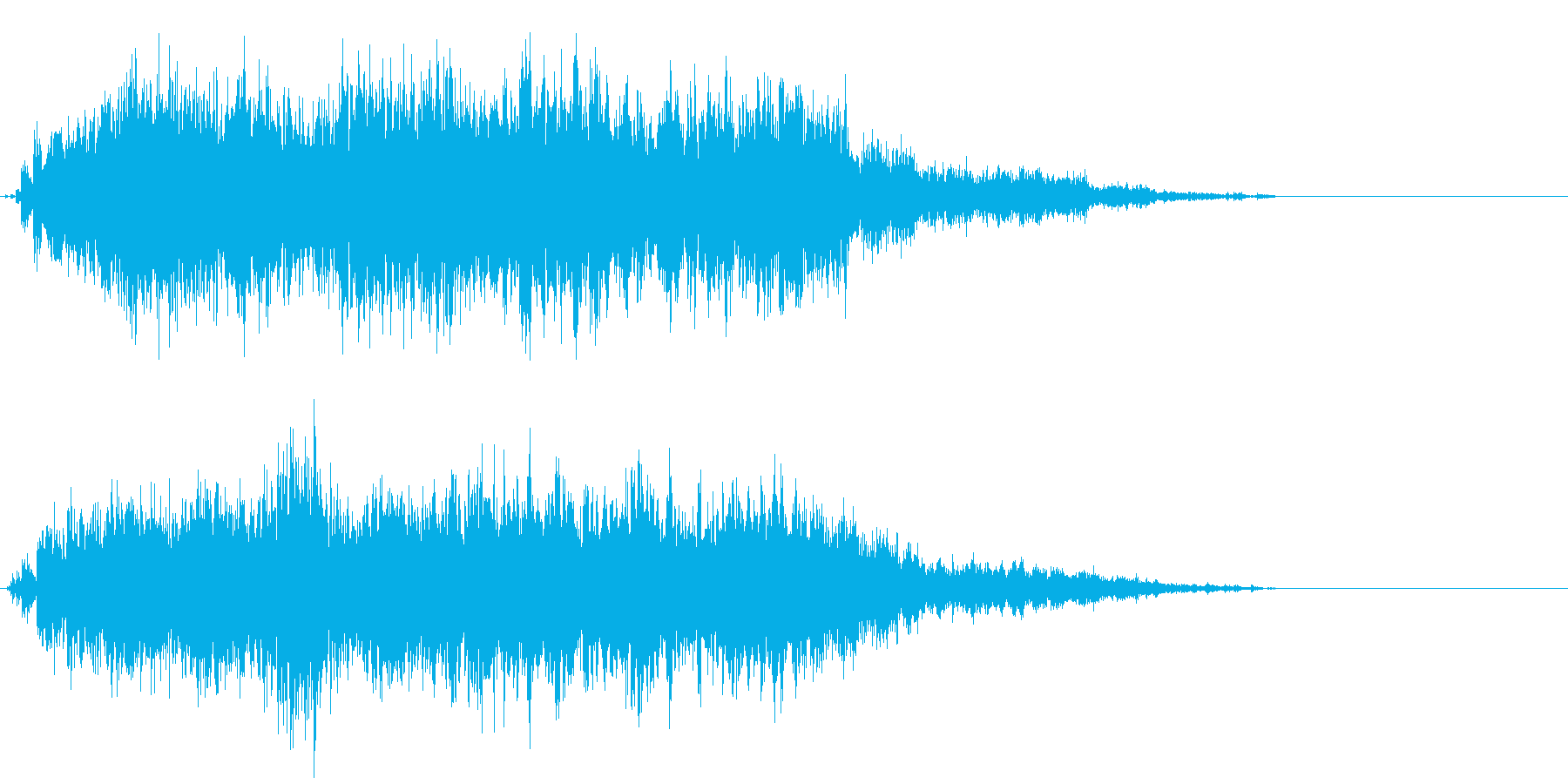 魔法06(攻撃・風・発動・飛ばす系)の再生済みの波形