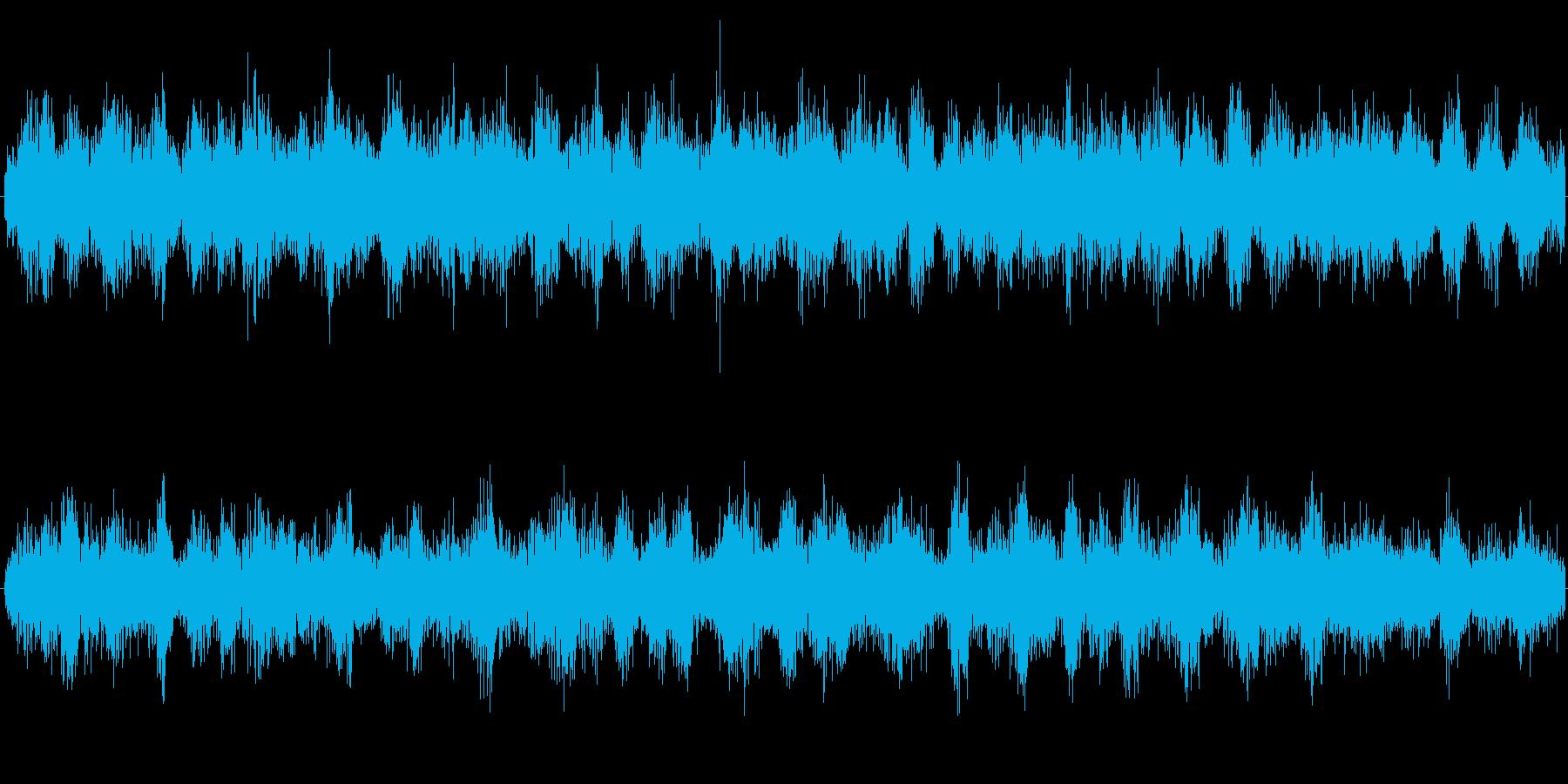 カエルの合唱の再生済みの波形