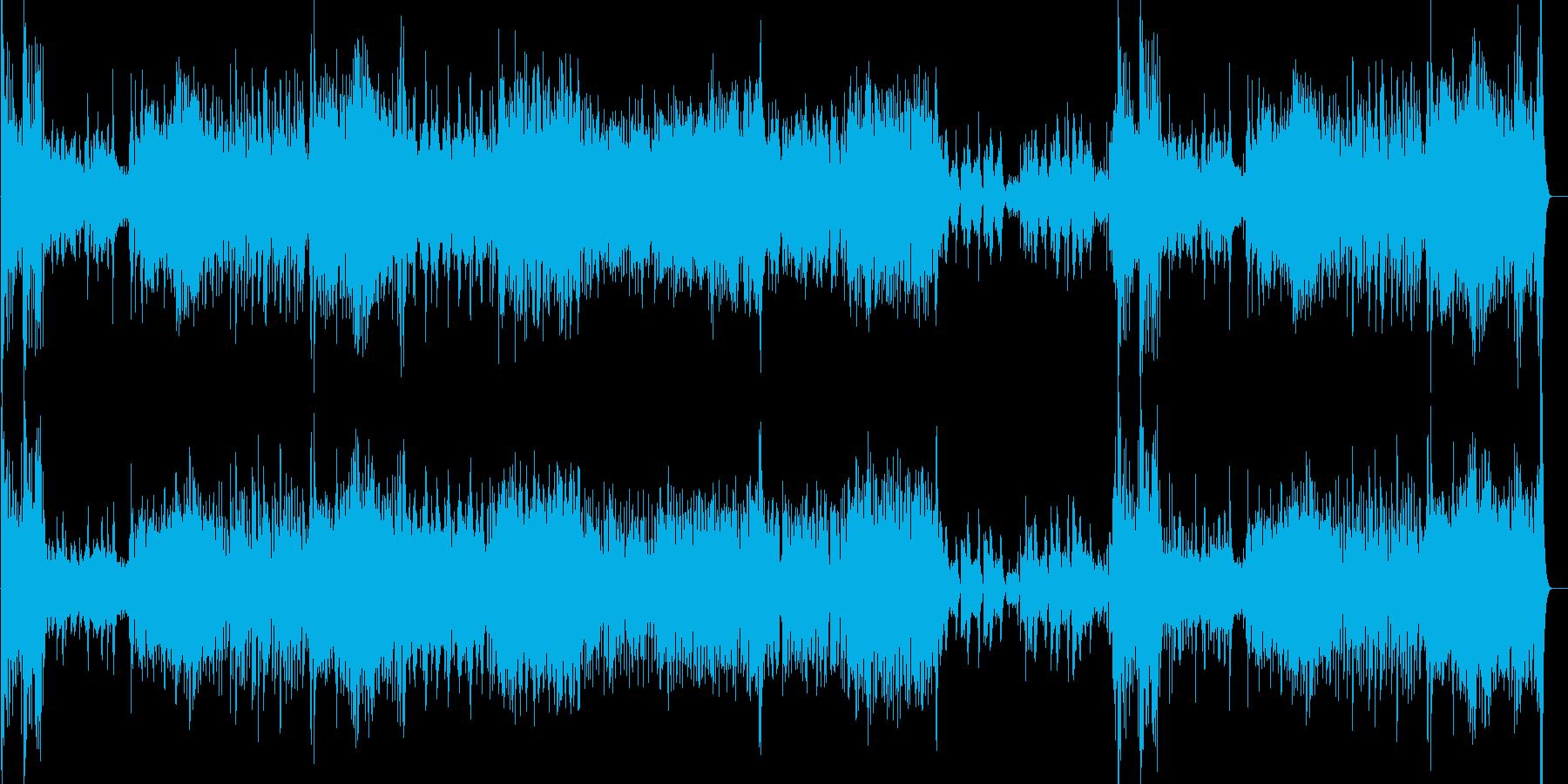 子供向けのほのぼのとしてコミカルなBGMの再生済みの波形