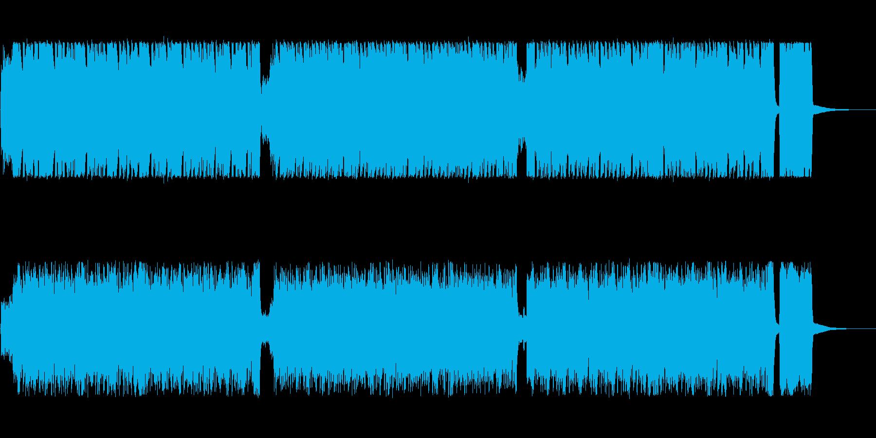 切なさを含むがテンポのいいジプシー風の曲の再生済みの波形