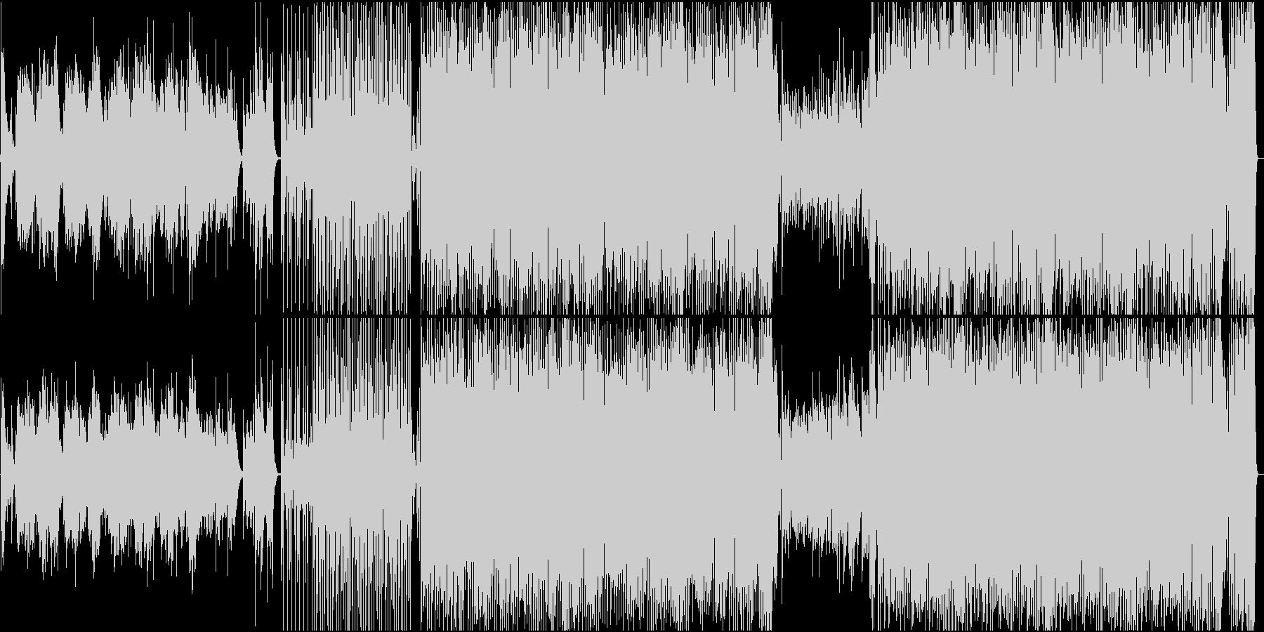 パフォーマンスに使える舞台向け曲の未再生の波形