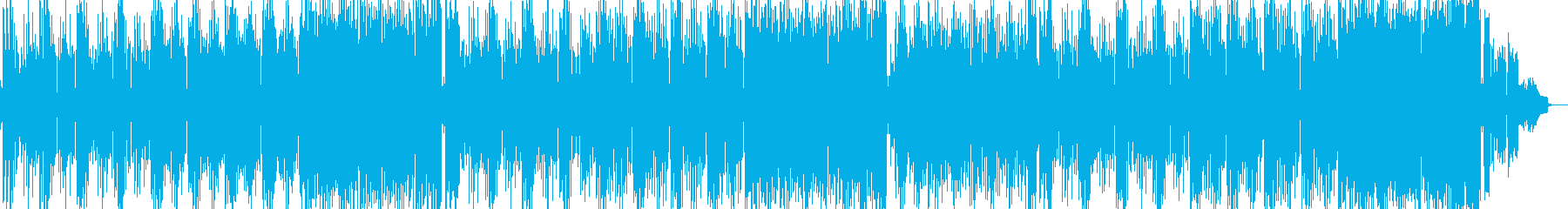ガレージHipHopギター曲の再生済みの波形