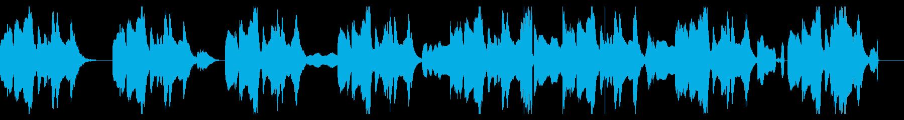 音痴リコーダーのちょっと間抜けなBGMの再生済みの波形