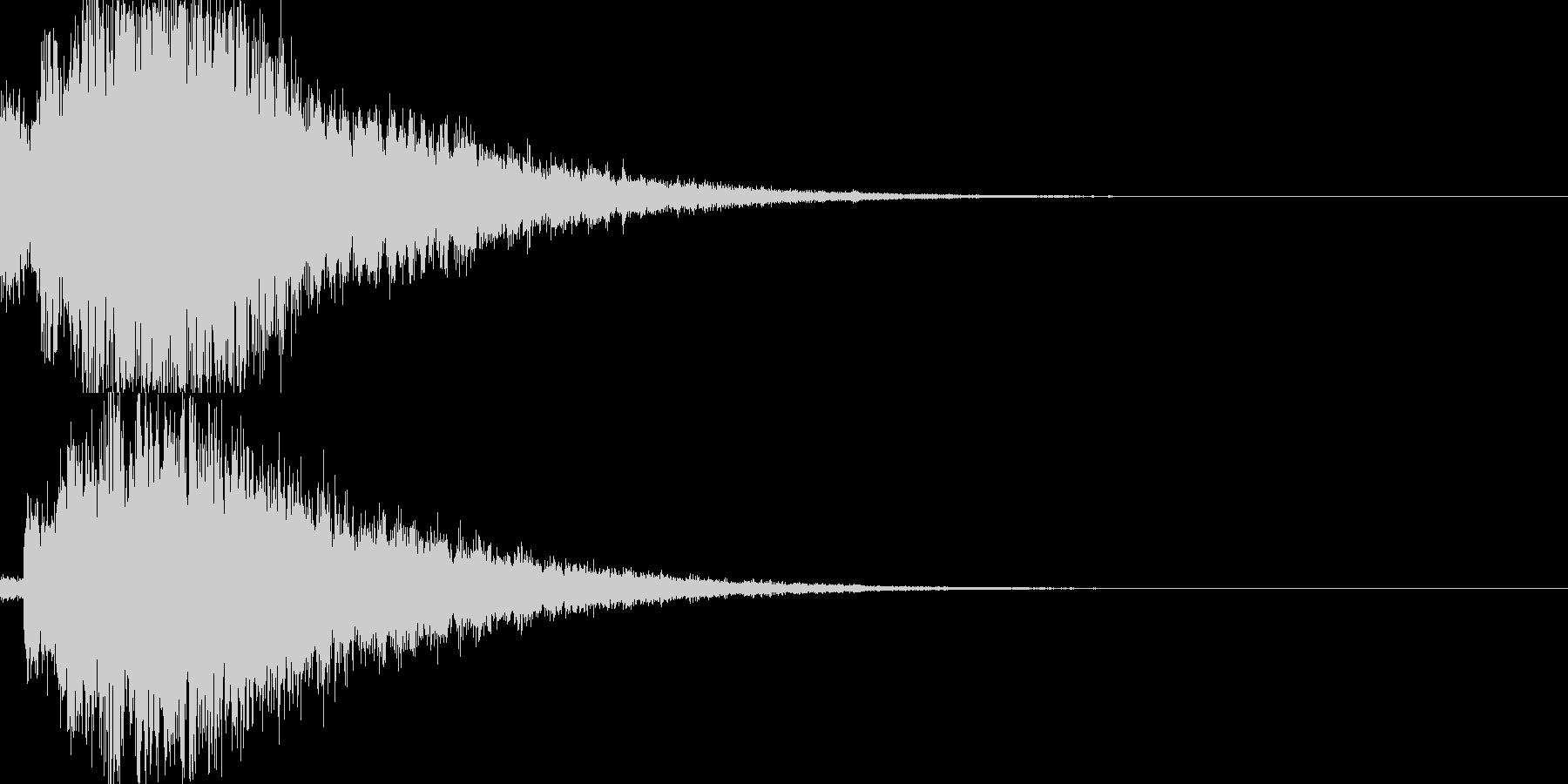 システム音29_シンセDXの未再生の波形