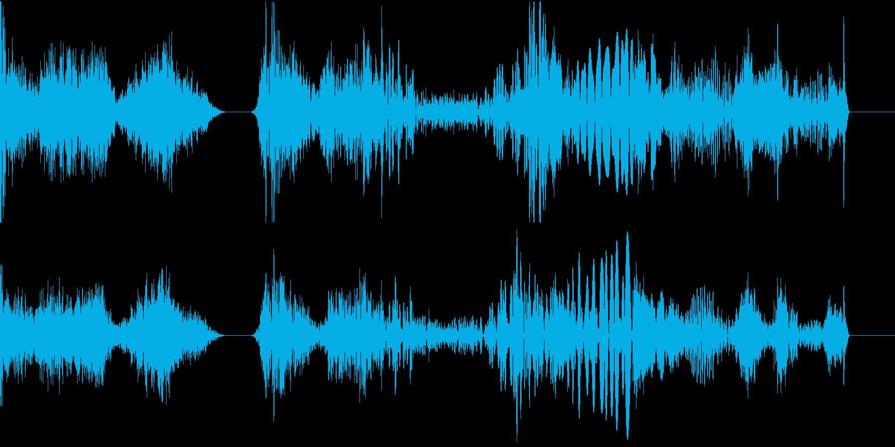 TVFX POPなザッピング音 5の再生済みの波形