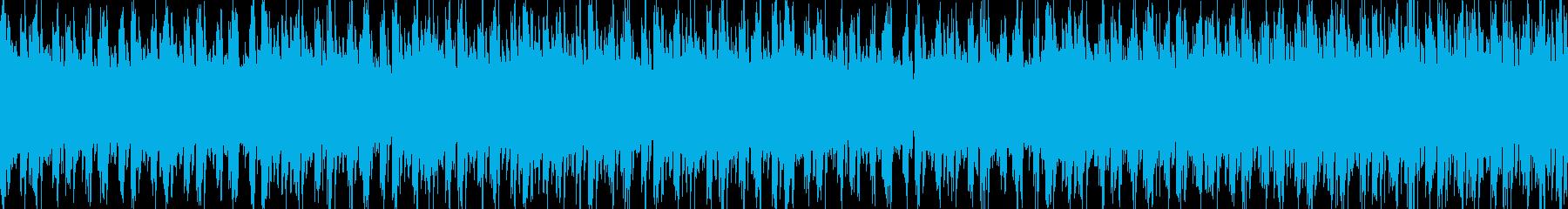 【ループ可】フュージョンなドラムンベースの再生済みの波形