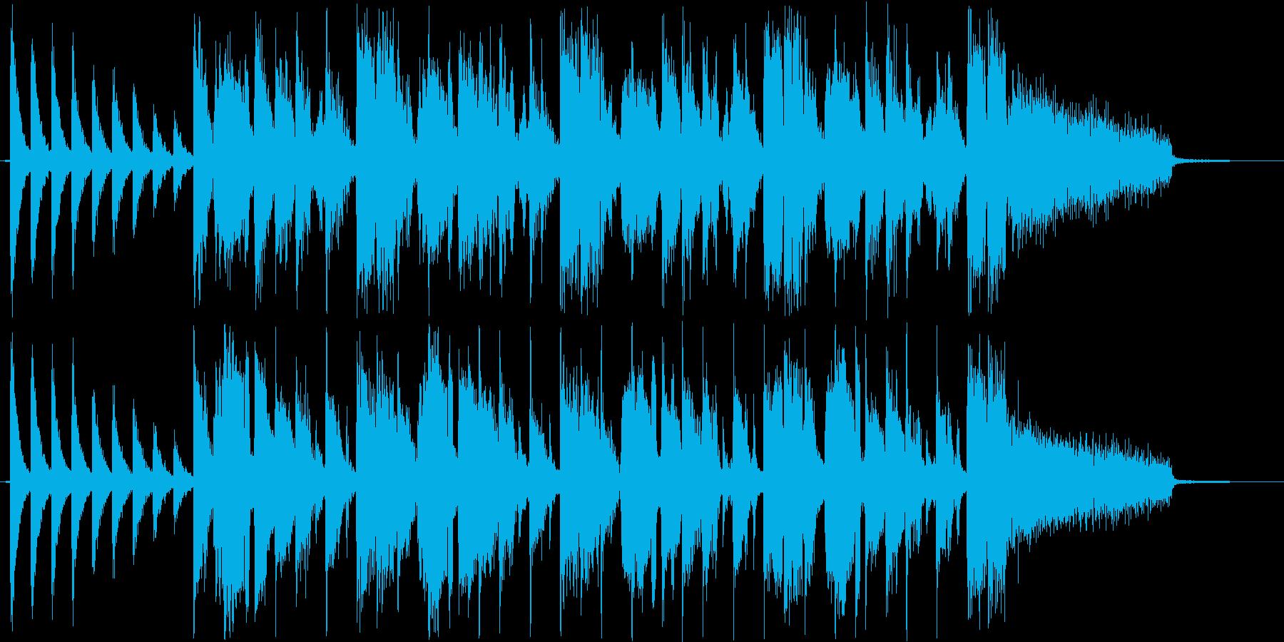 ファンタジーなシンセ・打楽器など短めの再生済みの波形