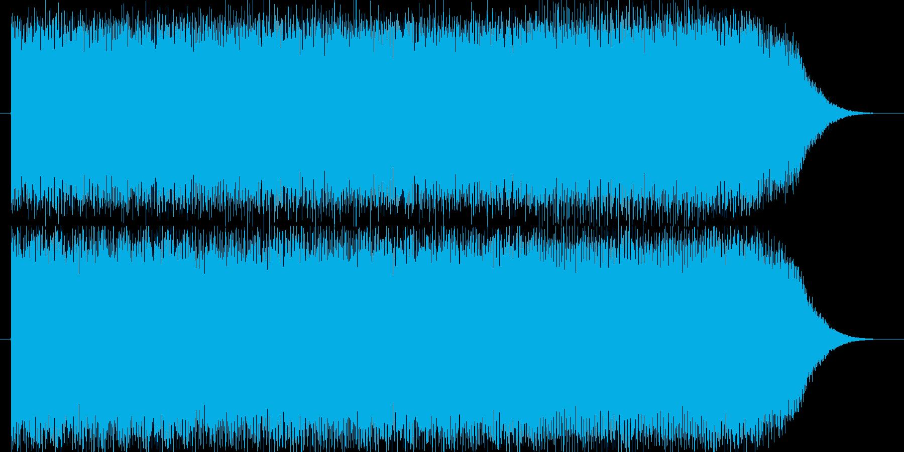 明るく楽しい雰囲気のエレクトロニカの再生済みの波形