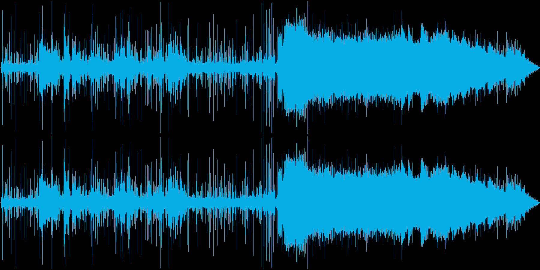 パチパチ、ジュワーの再生済みの波形