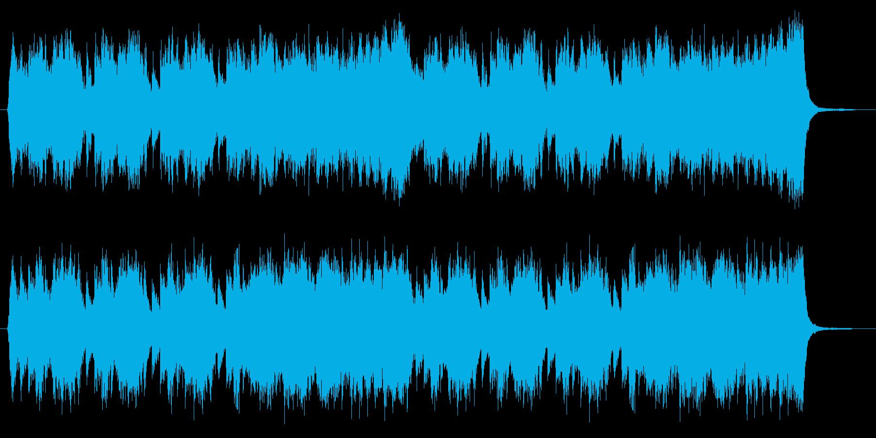 不穏なイメージのオーケストラ 編集版の再生済みの波形